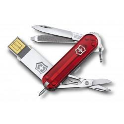 Нож перочинный Victorinox @work Classic c USB-модулем 32Gb 4.6125.TG32B