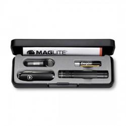 Набор Victorinox нож + светодиодный фонарь Maglite Solitaire LED 4.4014